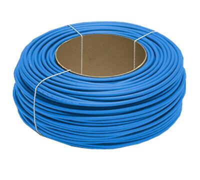 Solarlitze 6mm2 blau 100m Ring Kabel