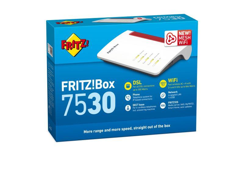 VDSL-Router FRITZ!Box 7530 - das Modem, der alles könner - FritzBox