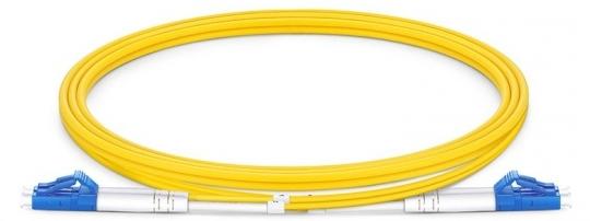 Glasfaser Kabel LC/PC LC/PC 2m singlemode, duplex LWL
