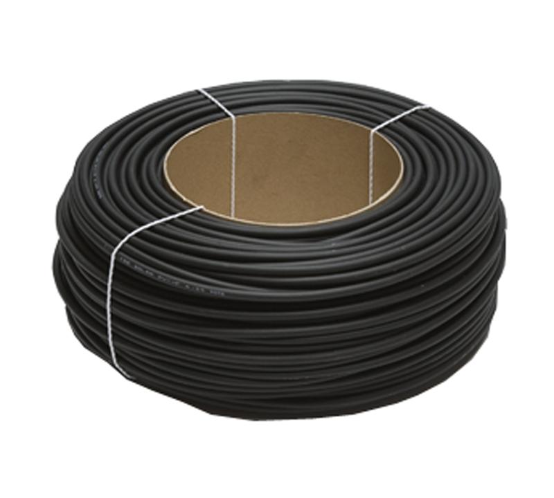 Solarlitze 6mm2 schwarz 100m Ring Kabel