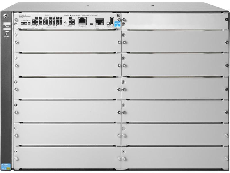 "Switch Cassis 5412R zl2 12-Slot 19"" HPE Aruba"