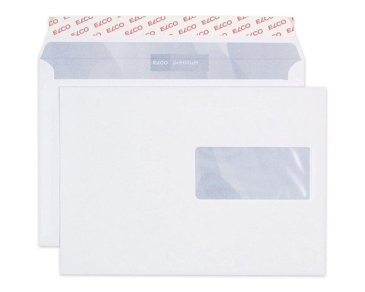 Couvert C5 weiss Fenster rechts 1 Pack.  à 500 Blatt (Kuvert) ELCO