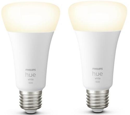 Leuchtmittel E27 WW 2x9.5W HUE 2er-Set