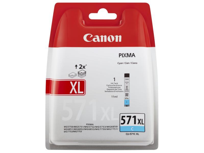 Canon Tinte 571XL Cyan (CLI-571C) 715 Seiten