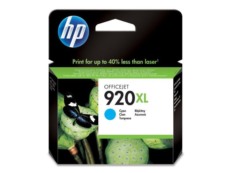 HP Tinte 920XL Cyan (CD972AE) 930 Seiten