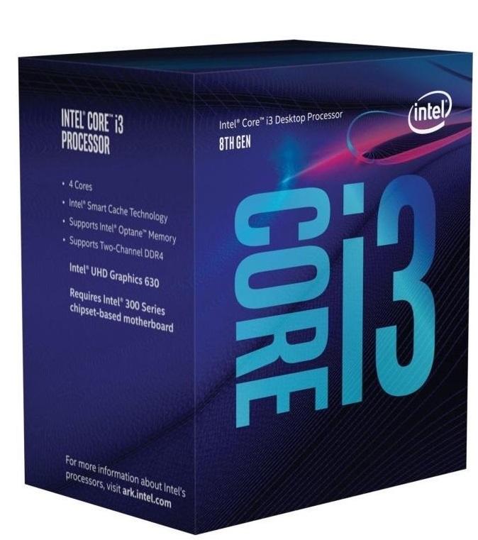 Intel i3-8100 LGA1151 4x3.6GHz Box