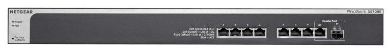 Occasion XS708E Switch 8x10Giga 1HE