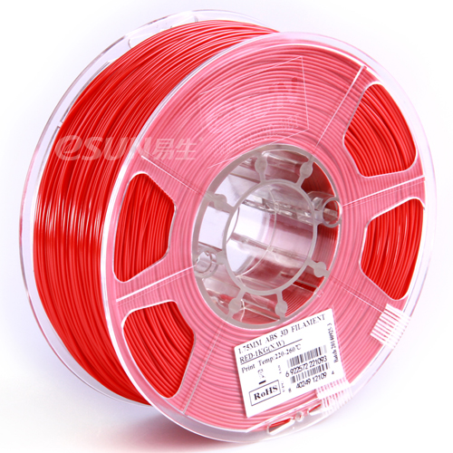 Filament PET rot 1.75mm 1kg