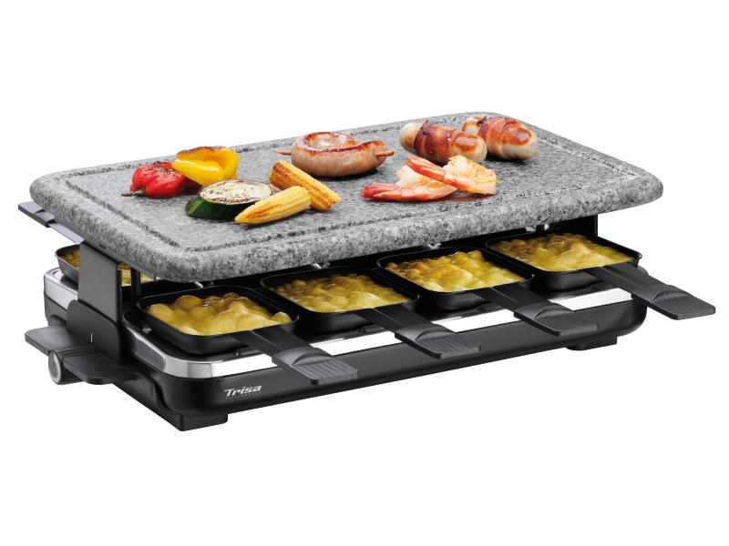 Raclette-Grill 8 Personen Hot Stone