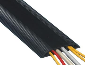 Kabelbrücke 3.0m 8.3x1.5cm Kabelkanal Kabelmanagement schwarz
