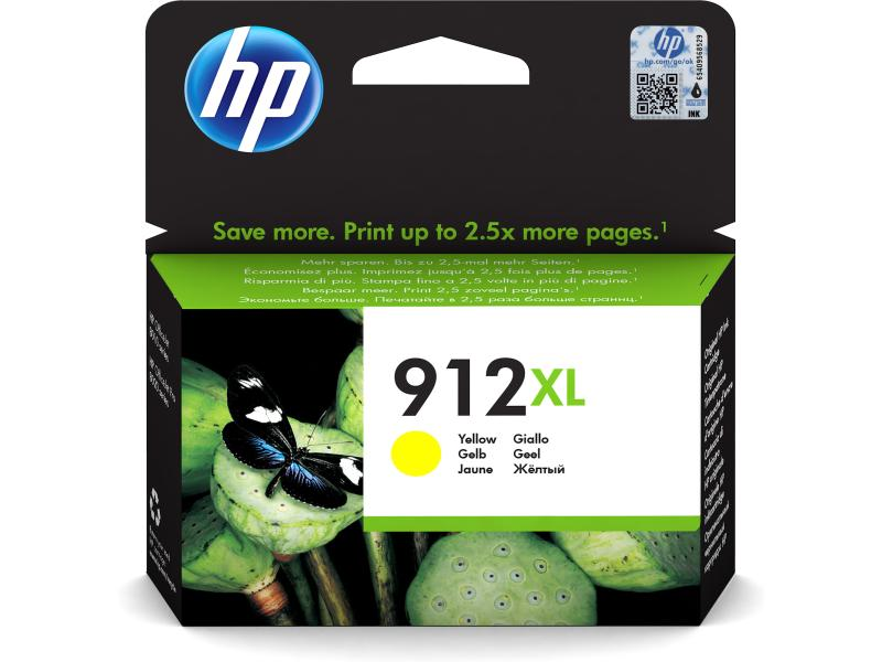 HP OfficeJet Pro 80xx Tinte Yellow 912XL