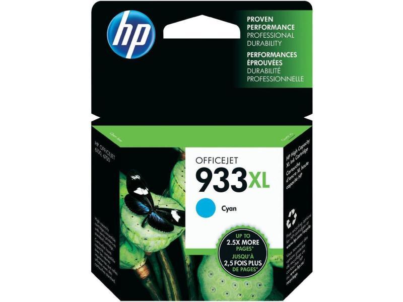HP Tinte 933XL Cyan (CN054AE) 825 Seiten