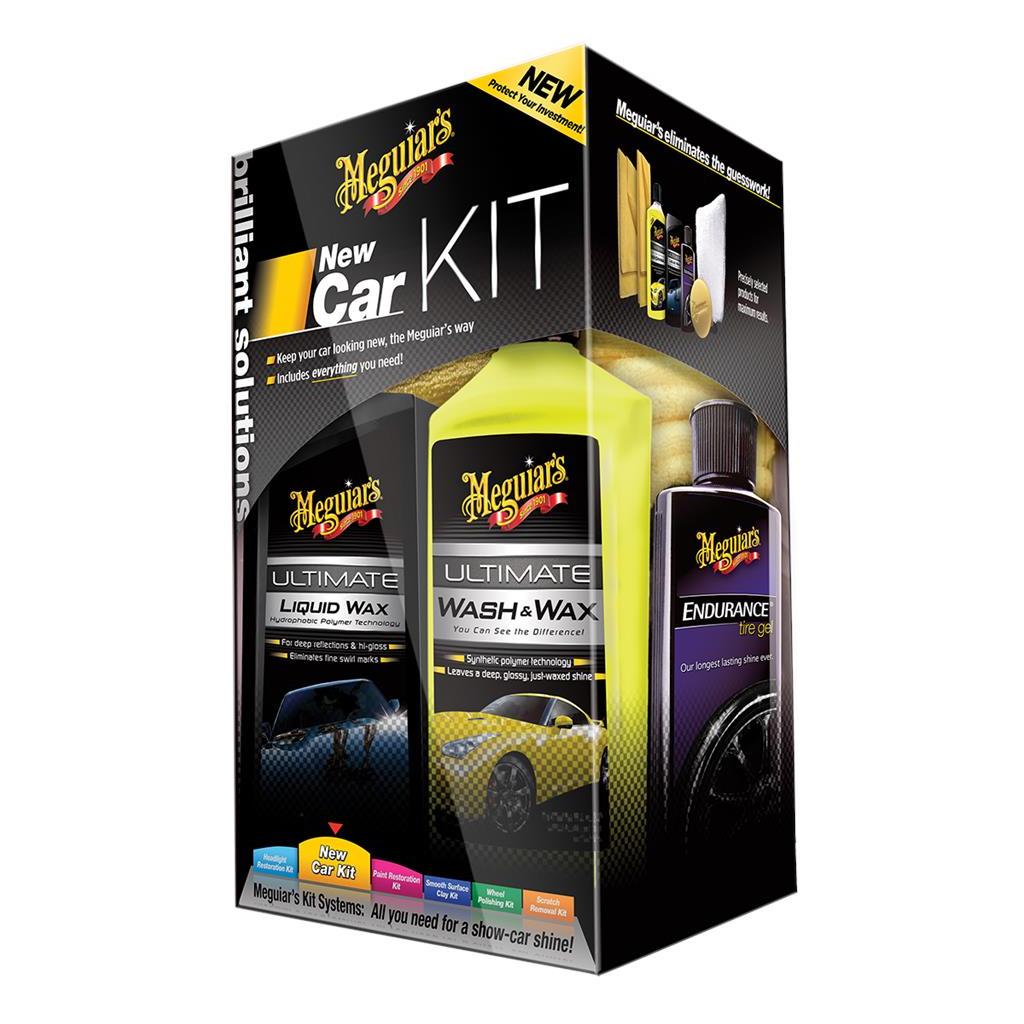 Meguiar's Brillant Solutions New Car Kit (473+177+175ml)