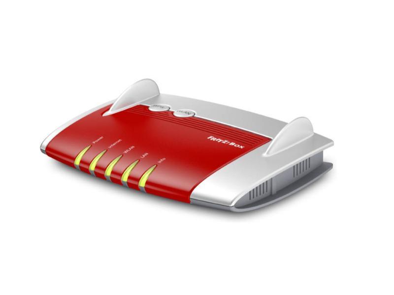 Kabel-Router FRITZ!Box 4020 - Router 4xLAN & WLAN - FritzBox