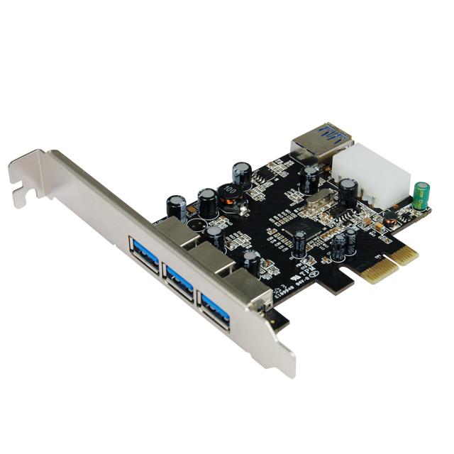 USB3.0 PCIe Karte 3Port Bulk