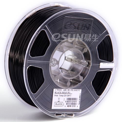 PLA Filament schwarz 1.75mm 1kg 3d-druck