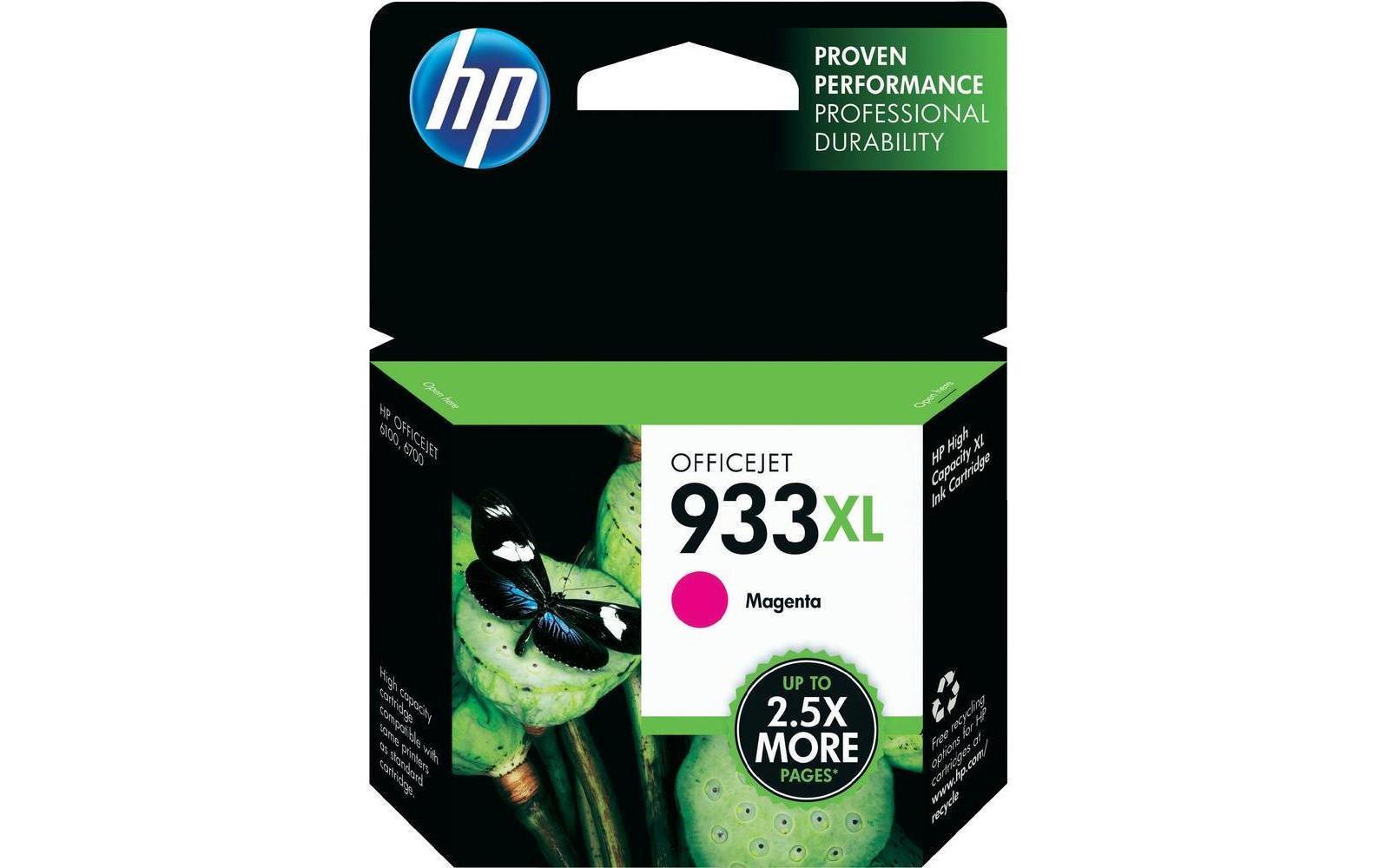 HP Tinte 933XL Magenta (CN055AE) 825 Seiten