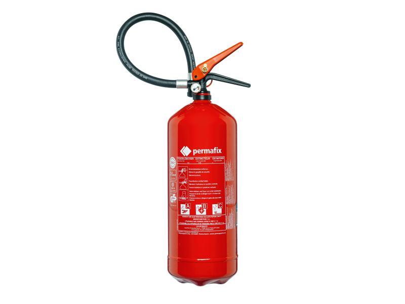 Feuerlöscher Pulver 6 Liter