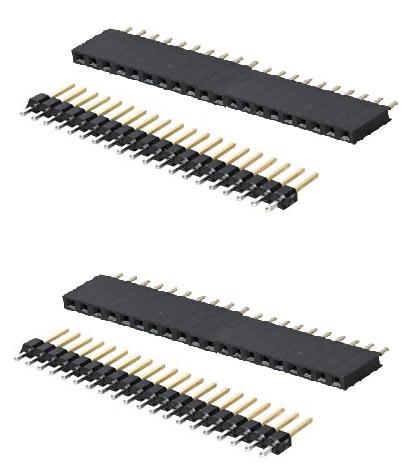 Raspberry Pi Pico Stiftenleiste und Buchsenleiste Set