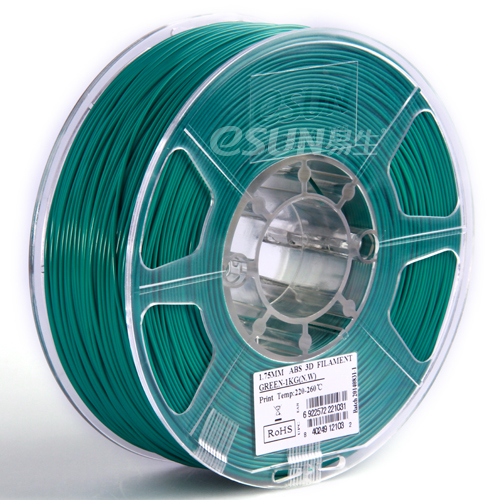 Filament PLA grün 1.75mm 1kg