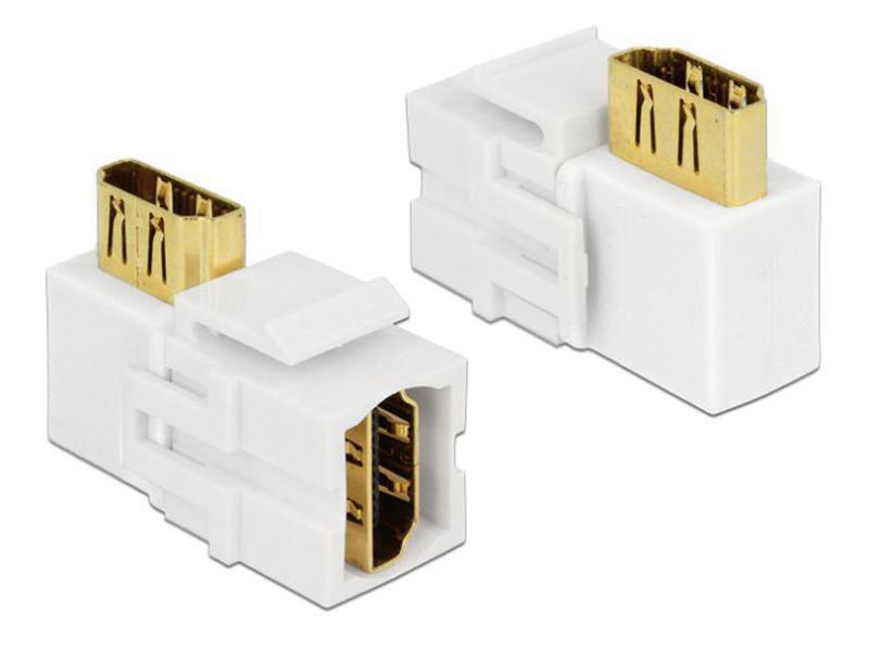 HDMI Keystone Modul Jack weiss