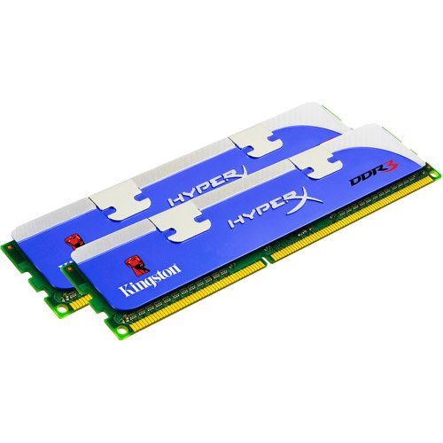 RAM 8GB DIMM DDR3-1333 Kingston Kit 2x4GB blau