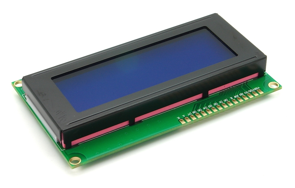 LCD 4x20 Text mit 4/8Bit Interface