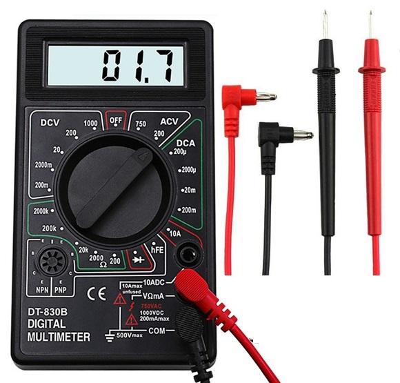 Multimeter Home DT-83B Volt, Amp, Ohm, Diode, Transistor